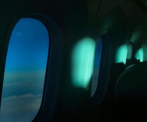 airplane, aesthetic, and travel image