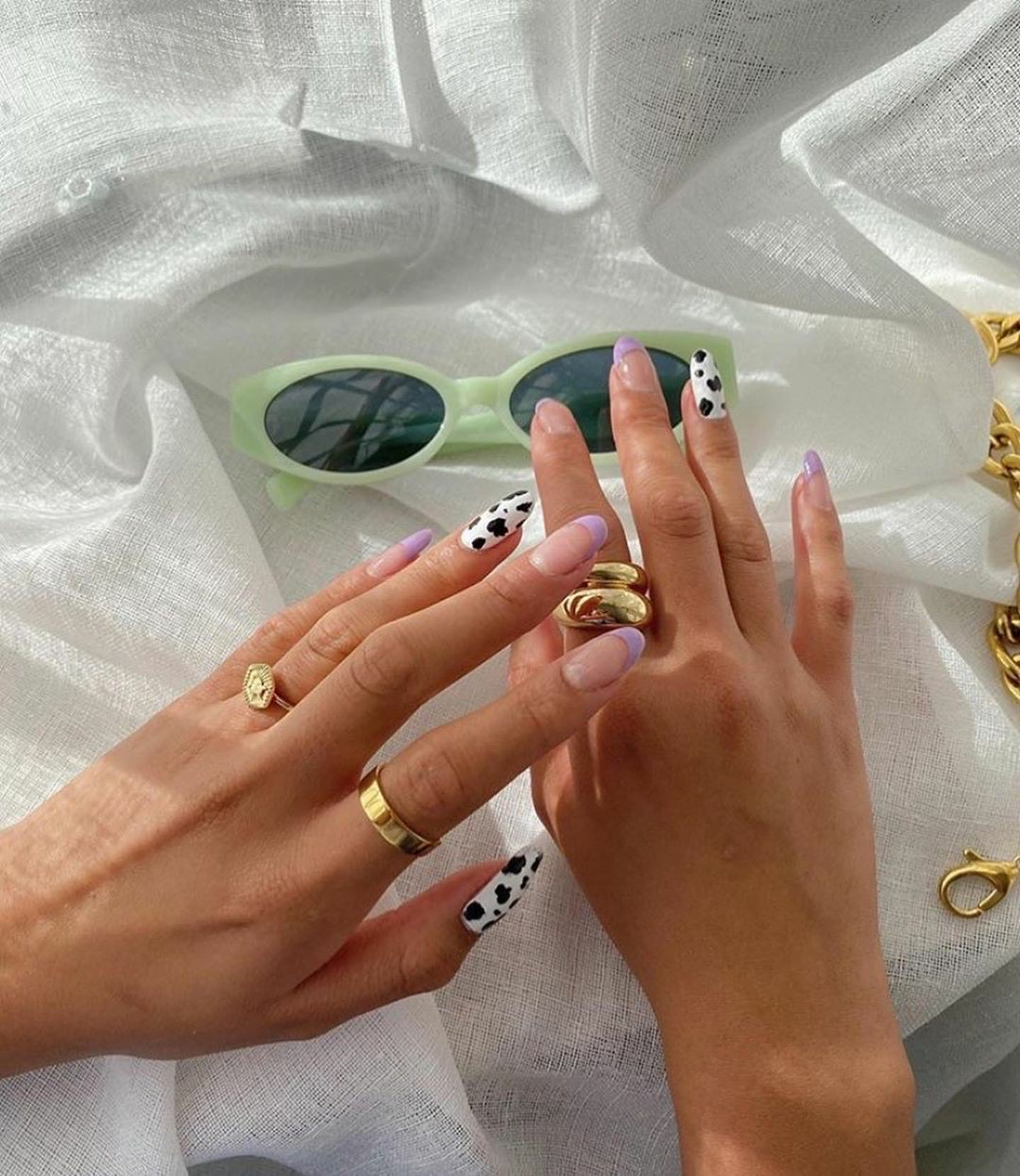 nails, aesthetic, and jewelry image