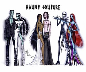 art, jack and sally, and Queen of the Damned image