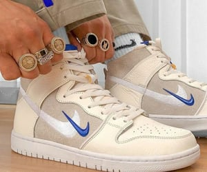 nike, beige, and boy image