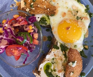 brunch, Chicken, and poulet image