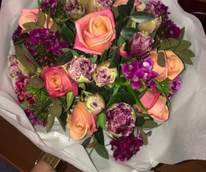 beautiful, bouquet, and magic image