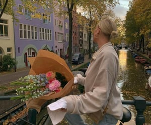 bicycle, blonde, and europe image