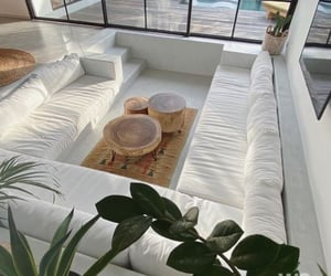 white, home, and interior image