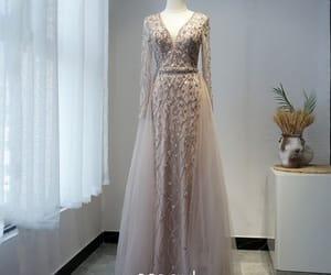 formal dresses, evening dress, and girl image