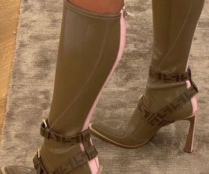 fashion, boots, and fendi image