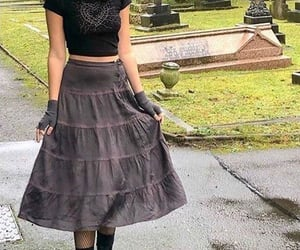 goth, fashion, and style image