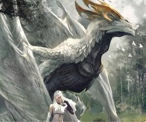 creatures, dragon, and fantasy image