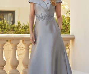 wedding, fashion, and mother of bride dress image