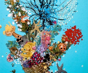 art, sirena, and underthesea image
