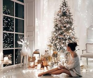 christmas, santa, and winter image