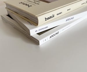 book, magazine, and white image