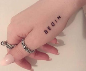 tattoo, jungkook, and hand image
