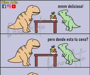 meme, memes, and dinosaurios image