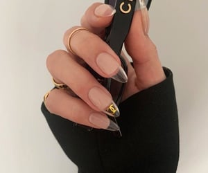 nails, chanel, and aesthetic image