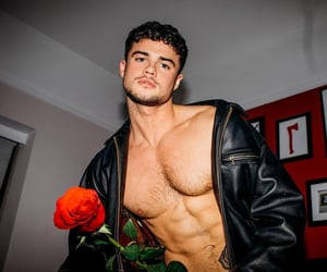Hot, roses, and tumblr boys image