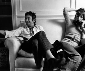 black and white, serge gainsbourg, and vintage image