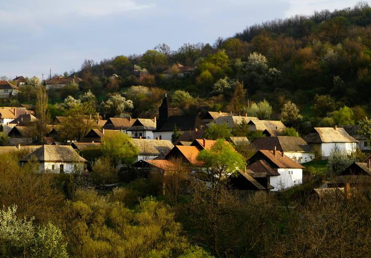 cottage, europe, and hungary image