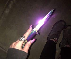knife, aesthetic, and grunge image