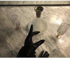 bottle, glasses, and bittle image