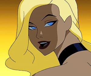 animation, Black Canary, and gif image