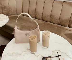 bags, coffee, and interior image