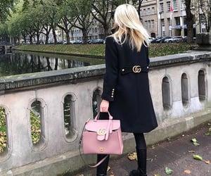 bag, black, and blonde image