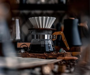 aesthetic, coffee, and focus image