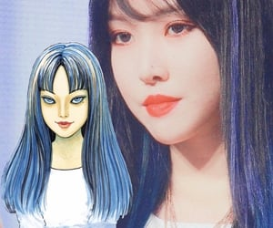 kpop, yuju, and gfriend image