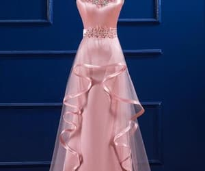 prom dress, party dress, and Prom image