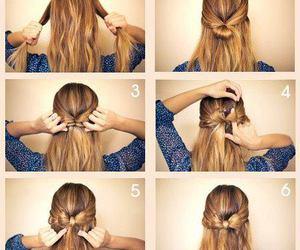 diy, hair, and laco image