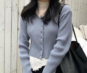 asian fashion, casual fashion, and korean style image