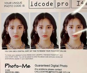 edit, kpop, and mugshot image