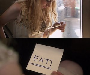 skins, cassie, and eat image