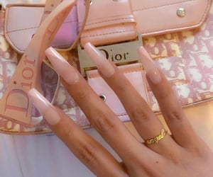 accessories, nails, and dior image