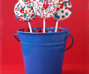 america, blue, and chocolate image
