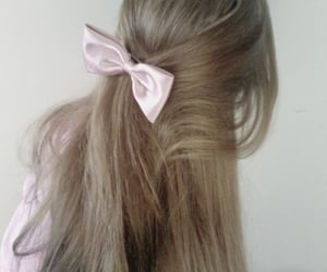 hair, pink, and pale image