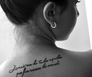 black and white, photography, and tattoo image