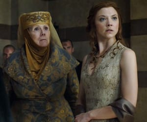 game of thrones, margeary tyrrell, and olenna tyrrell image