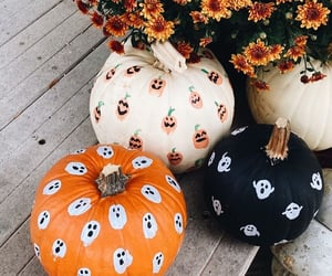 autumn, black, and Halloween image