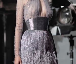 Couture, dress, and paolo sebastian image