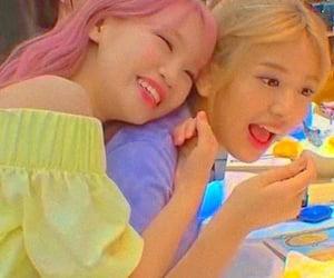 izone, chaewon, and yujin image