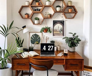 deco, desk, and home image