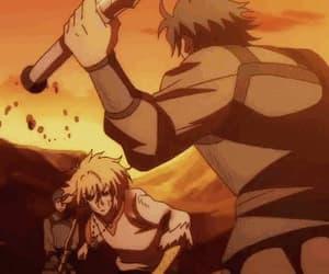 anime, anime fight, and akatsuki no yona image