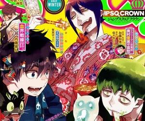 anime, blue exorcist, and manga image