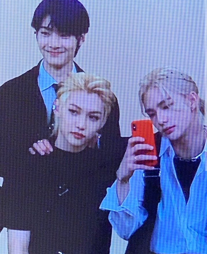 hyunjin, felix, and stray kids image