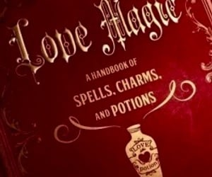 aesthetic, love potion, and red aesthetic image