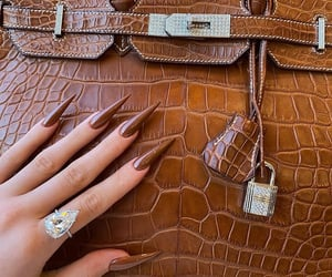 nails, kylie jenner, and bag image