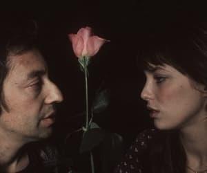 jane birkin, serge gainsbourg, and rose image