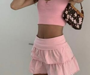 fashion, crop top, and everyday look image